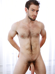 Big-dicked muscle hunk Bravo Delta very first hardcore scene