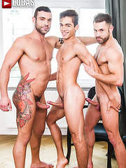 Letterio Amadeo And James Castle Double-Team Ashton Summers